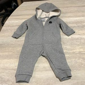 Carhartt Baby Boy Hooded Jumpsuit